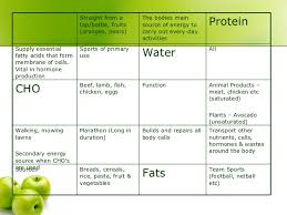 Sports Nutrition Powerpoint