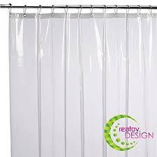 mildew resistant shower curtain liner 72x72 clear peva curtain for bathroom waterproof odorless eco
