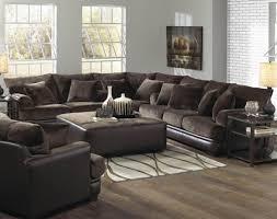 Furniture Livingroom Decor Stunning Leather Sofa Living Room
