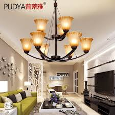 get ations jane western style rustic chandeliers double double staircase chandelier lamp living room atmosphere continental iron chandelier
