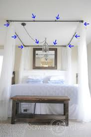 Ceiling Beds Best 25 Faux Canopy Bed Ideas Only On Pinterest Canopy Bedroom