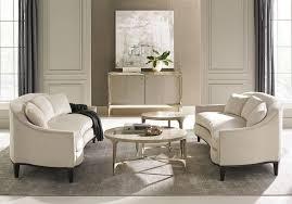 neutral beige velvet sofas