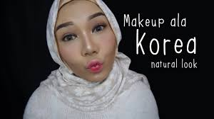 korean inspired makeup tutorial natural makeup look bahasa indonesia