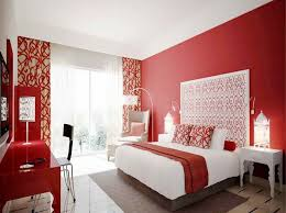 red accessories for bedroom photo - 9