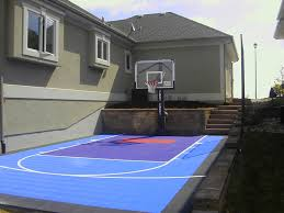 backyard ideas basketball court. astonishing small backyard basketball court ideas pics decoration inspiration i