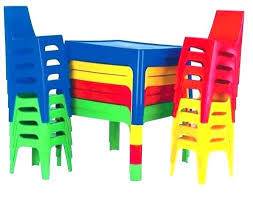 childrens plastic table and chair whole kids plastic chairs and tables colorful height adjule kindergarten childrens