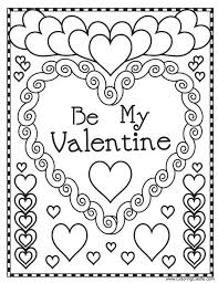 Free Valentines Coloring Pages Free Printable Valentines Adult