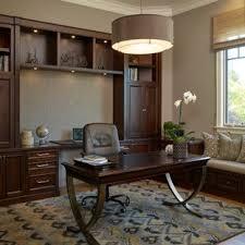 study office design ideas. Mid-sized Elegant Freestanding Desk Medium Tone Wood Floor Study Room Photo In San Francisco Office Design Ideas A