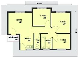 simple 3 bedroom house plans classy bedroom house plans with photos plan elevation ranch simple 3