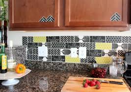 kitchen design apply unique and inexpensive diy kitchen backsplash ideas you need to see