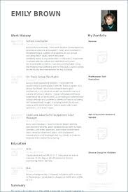 Resume For Counselor Summer Camp Counselor Resume Day Camp Counselor Resume Summer Camp