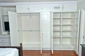 Building closet shelves Pantry Built Corporateallianceco Built In Closet Drawers Closet Storage Systems Building Closet