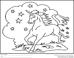 Unicorn Coloring Pages Is A Collection