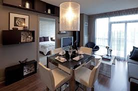 One Bedroom Apartment Living Room One Bedroom Apartment Design Trends With Photos Small Design Ideas