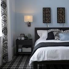 powder blue and black parfait ca black blue bedroom