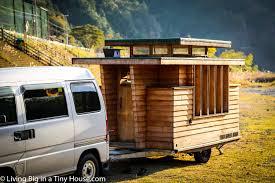 Small House On Wheels Breathtakingly Beautiful Japanese Tiny House On Wheels Living