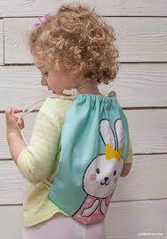 Drawstring Backpack Pattern Simple How To Make A Drawstring Backpack Lia Griffith