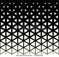Graphic Pattern Custom Abstract Geometric Black White Graphic Design Stock Vector Royalty