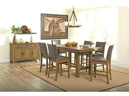 high dining table set round