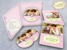 Wedding Dvd Template Wedding Dvd Template Photoshop Templates Cpz016 Etsy