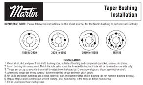 Taper Lock Bushing Size Chart Best Picture Of Chart
