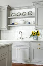 ... Kitchen Light, Wall Color For Light Grey Kitchen Cabinets Ideas:  Astonishing light grey kitchen ...