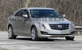 2015 Cadillac ATS Sedan Spy Photos | News | Car and Driver