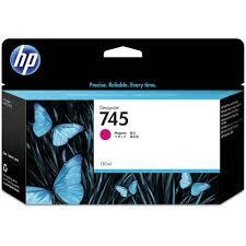 Hp Designer Hp 745 Designjet Magenta Ink Cartridge 130ml