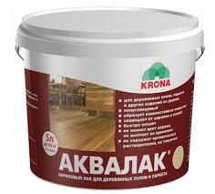 <b>Лак</b> KRONA Аквалак паркетный купить по цене от 721 руб. в ...