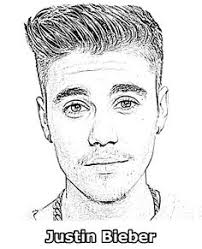 Small Picture Here you can find Justin Bieber coloring pages Justin Bieber