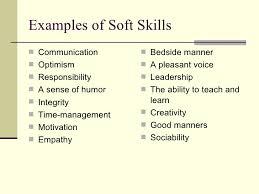 examples of skills examples of soft skills under fontanacountryinn com