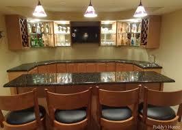 Home Basement Bars Interior Basement Sports Bars For Pleasant Home Design Basement