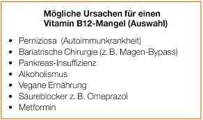Vitamin b12 mangel durchfall