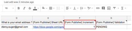 Standard Markers To Be Reused In Your Template Documentation Custom Increment Form