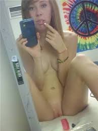 Nude teens on phone