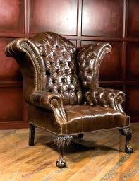tufted wingback chair leather chair large alternate image 0 black leather tufted chair oversized adirondack