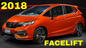 2018 honda jazz facelift.  jazz 2018 honda jazzfit facelift for honda jazz facelift youtube