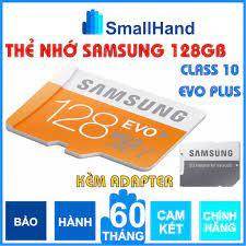 Thẻ nhớ MicroSD SamSung 128GB Chính hãng – Bảo hành 5 năm – Evo Plus Class  10 – Kèm Adapter