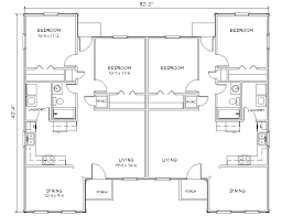 modern duplex house plan duplex house plans and duplex house plan 1