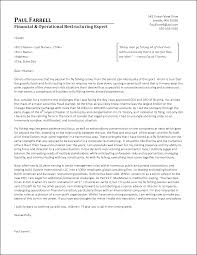 Example Of Executive Cover Letters Executive Portfolio Examples