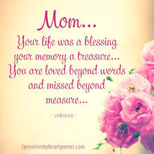 40 Best Missing Mom Quotes On Mother's Day In Loving Memory Of Gorgeous Remembrance Love Image Quotation