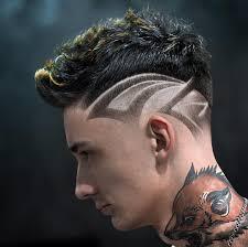 Tramlines Hair Designs Mens Hairstyle Trends 2019 Shaved Hair Designs New Hair