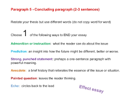 cause and effect essays  causal essay formula 23