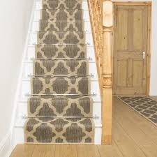 tweed stair runner rug quatrefoil free delivery plus a no quibble 30 day returns policy