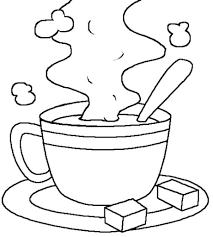Small Picture Hot Chocolate Coloring Page Winter Theme Coloring Pages Winter