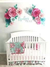 baby girl nursery wall decor ideas best aqua images on beautiful future pretties fresh art