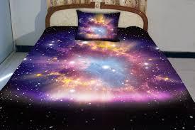 galaxy twin bed sheets