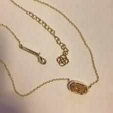 elisa pendant necklace in rose gold druzy kendra scott elisa pendant necklace bronze drusy elisa pendant