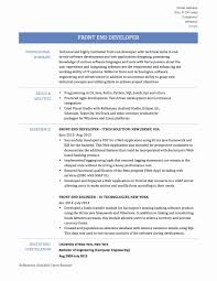 Web Developer Summary Resume Unique How To End A Web Developer