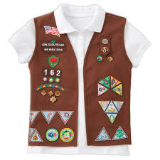 Official Brownie Vest